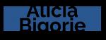 logo alicia noir